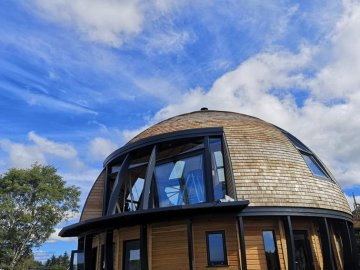 Eco Cabin Eco Holiday Hot Tub Scotland3